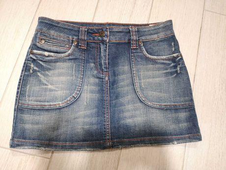 Дънкова къса пола