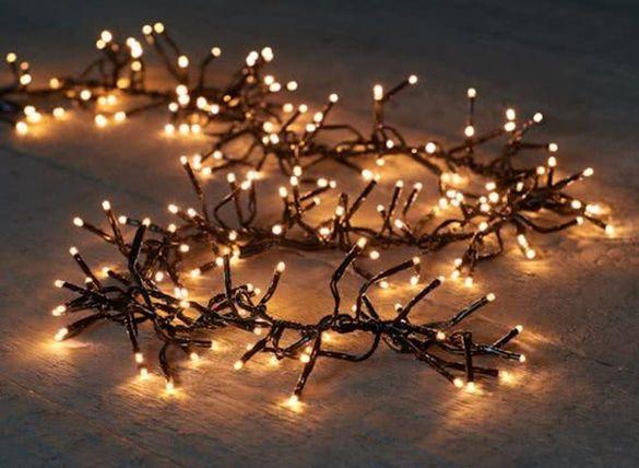 Лампички за градинината и дома, 768 LED лампички, Външна и вътрешна