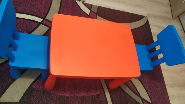 Set masa cu scaune Ikea Mammut