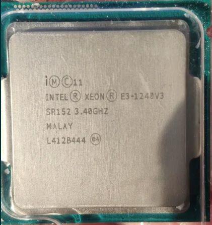 Procesor E3-1240 v3 8 threaduri , socket 1150 ,( i7-4790 )