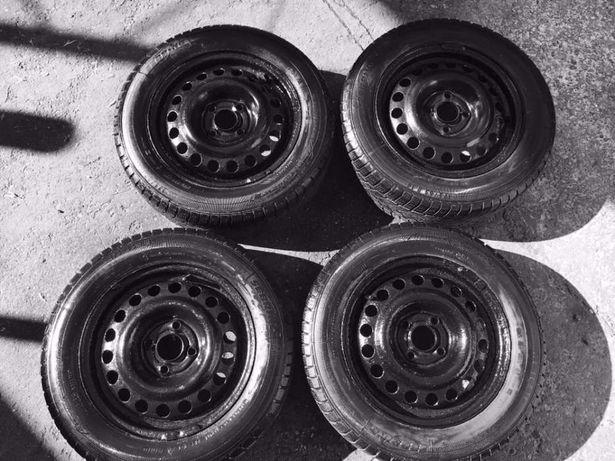 Jante de fier + cauciucuri pentru iarnă - Opel Corsa - 175/65 R14