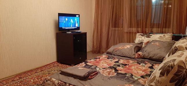 Квартира посуточно 1 комнатная  в 6 мкр уютная
