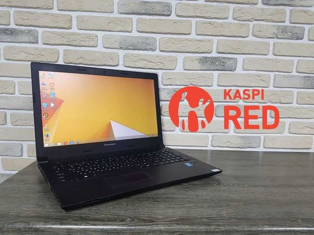Ноутбук Lenovo Core I3-4005U ОЗУ 4 Рассрочка KASPI RED!Гарантия 1год!