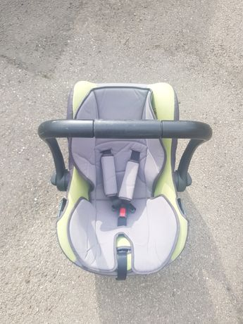 Scoica auto GEOBY pentru bebelusi + husa si protectie vant / ploaie