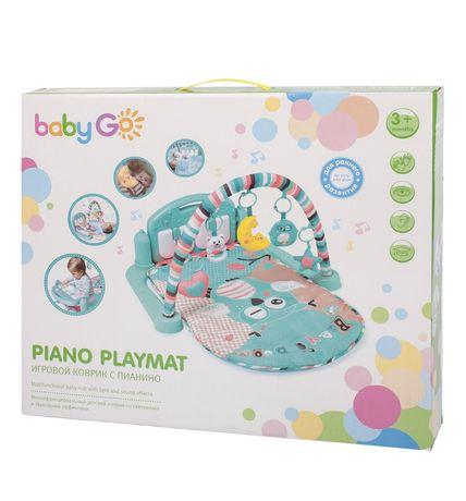 Равивающий коврик baby Go Piano Playmat отличный подарок