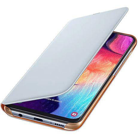 Husa Flip Walet SAMSUNG Galaxy A50 EF-WA505PWEGWW, alb