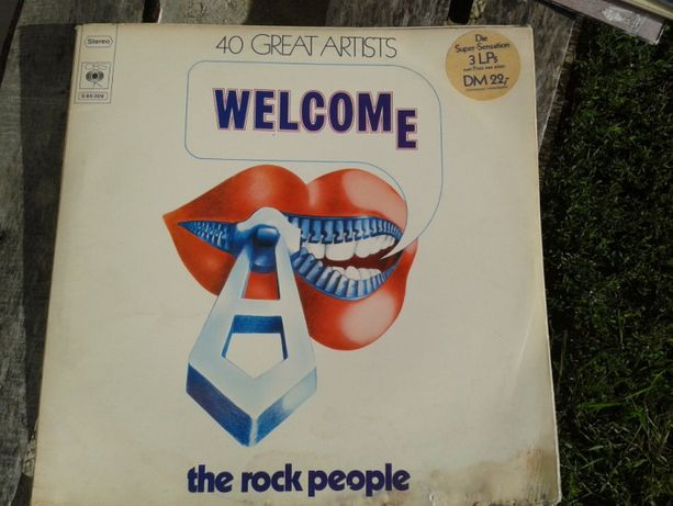 welcome the Rock People! discuri vinil.