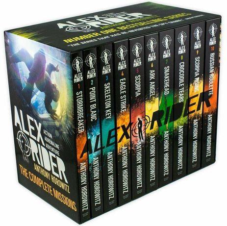 Alex Rider колекция 10 книги