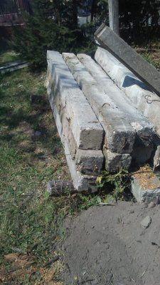 Stâlpi de beton pentru gard de casa cu fier beton