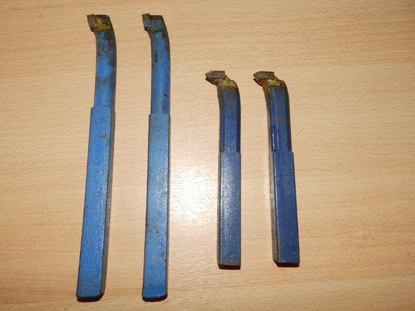 Стругарски ножове кобалт, с пластина