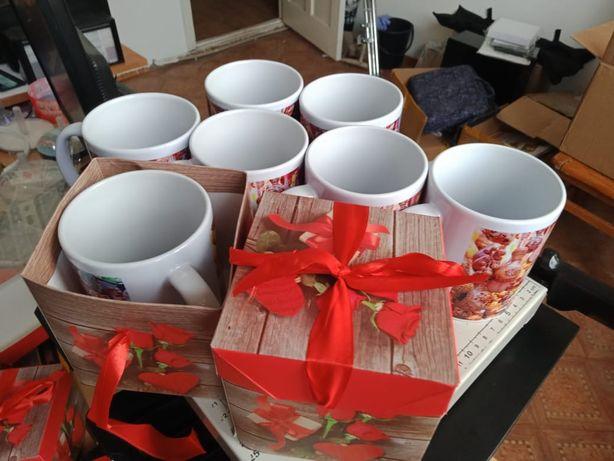 Печать на кружках Кружки на праздники от 800тг (Кружка) Фото на кружки