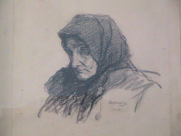 desen vechi ,pictor renumit Balint-Arad