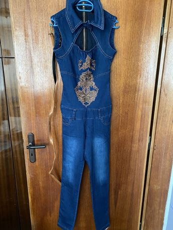 Нов дънков гащеризон Lucy fashion