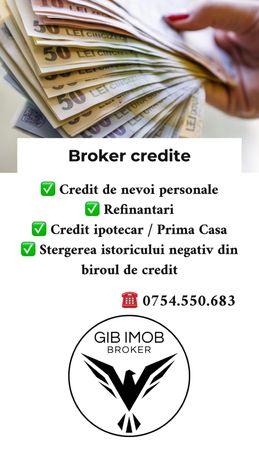 Broker de credite/ Consultant financiar / card de credit