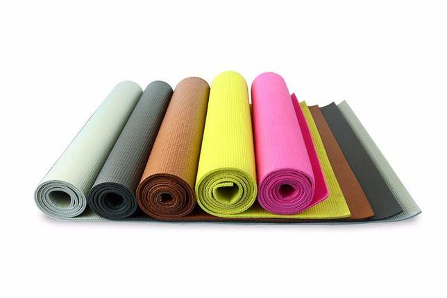 Коврик для йоги(йога мат,каремат) и фитнеса 5мм