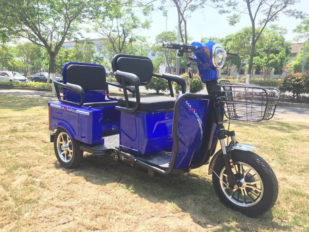Електрическа Триколки Скутер MaXmotors 1500 W BLUE CARGO