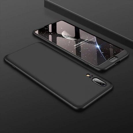 ‼️ 360° Градуса Кейс Мат за Huawei P40 Lite + протектор / P30 P20 Pro