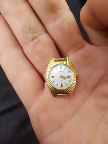 Продам часы женские СССР позолоченные