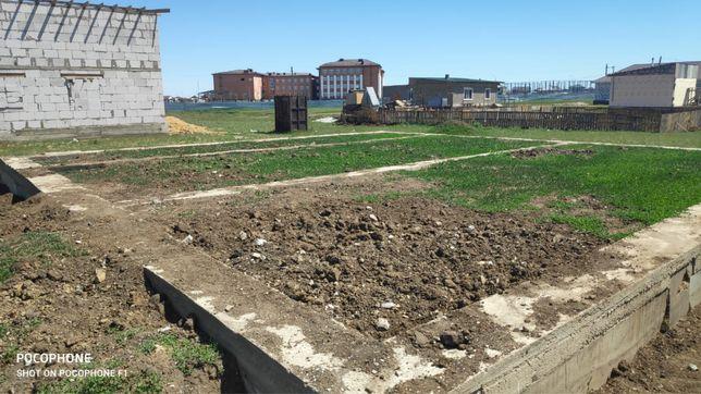 Земельный участок 10 сот с фундаментом в поселке коянды