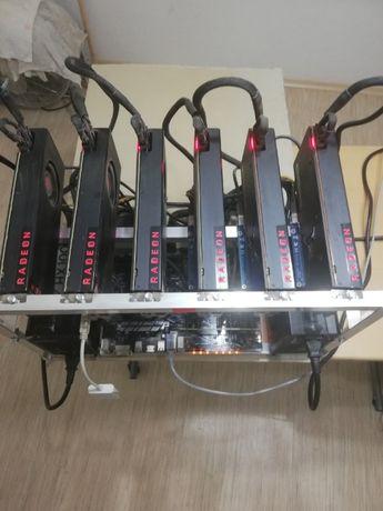 Майнинг риг,Копачи за криптовалути. 2x264Mh/s ASUS Prime Z270-P M.B