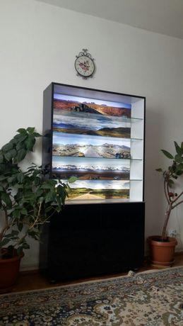 Vitrina pentru Machete cu peisaje luminate