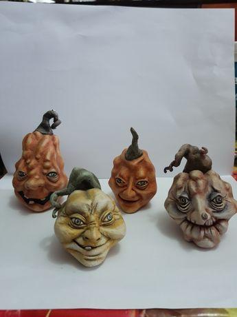 Lot little pumpkins