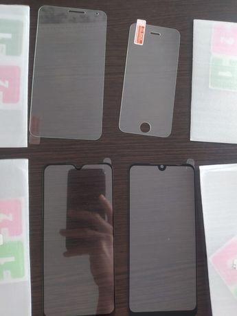 Стекла на телефон  redmi note 7 8 Meizu C9 iphone 5 5s 5c SE
