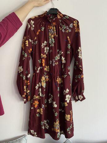 Rochie eleganta cu imprimeu floral M