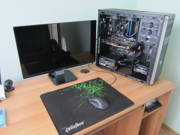 Преинсталация, почистване и сервиз на настолни компютри и лаптопи.