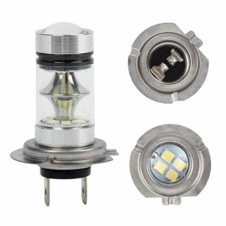 LED крушка за автомобил без вентилатор ЛЕД кола H7, H4, H3, H1, H11 H8