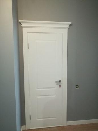 Качественная Установка дверей любой сложности откосы с ламината