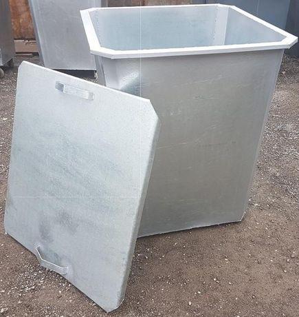 Оцинкованные нержавеющие контейнеры для мусора (с НДС)