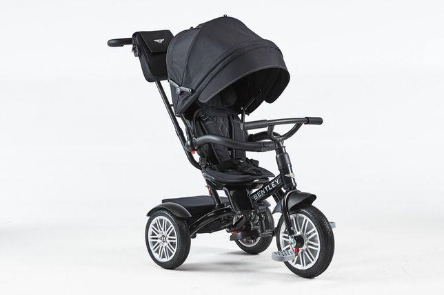 Tricicleta BENTLEY 6 in 1 Black Onix pentru copii. Carucior Bentley