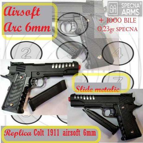 Replica pistol COLT 1911 arc calibru 6mm airsoft