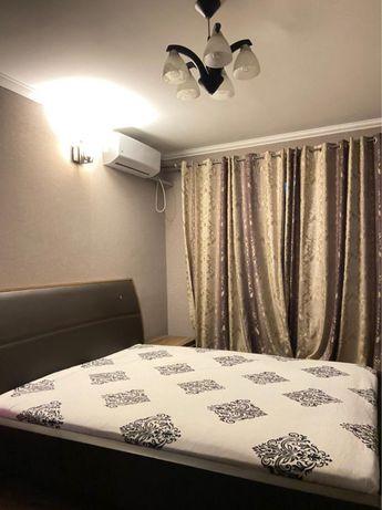 1 ком квартира по часам и на ночь 8000 город Шымкент, Нурсат