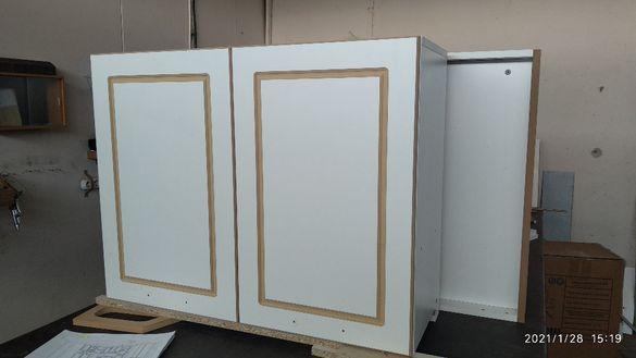 Боядисване и направа на детайли и вратички от МДФ фрезоване с CNC