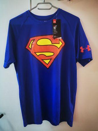 Tricou Under Armour Superman, marime M, nou, cu eticheta