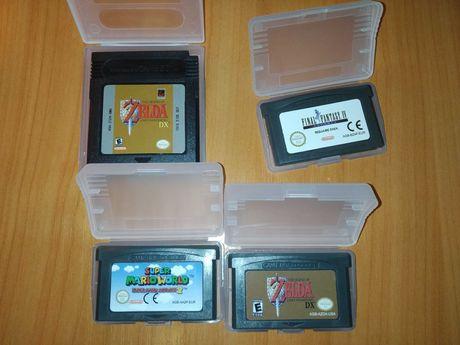 Нови Марио, Зелда, ФФ 4 дискети за Нинтендо геймбой адванс