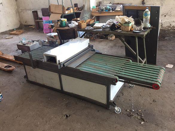 UV сушилня за лакираща машина с UV лак