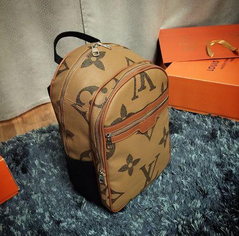 Ghiozdan/rucsac Louis Vuitton Reverse Monogram de voiaj/sala/scoala !!