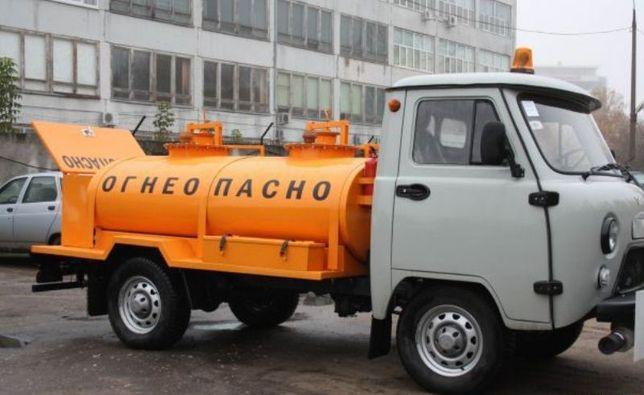 Автотопливозаправщик (бензовоз) уаз 1500 литров