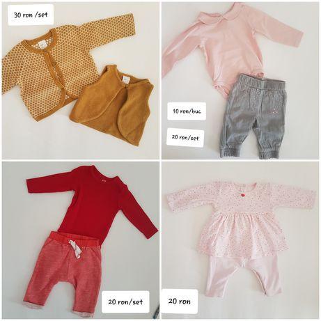Lot set hainute/pantaloni/cardigan/salopeta H&M Next F&F  62 1-3 luni