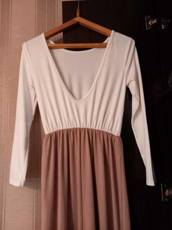 Продам платье с открытой спинкой