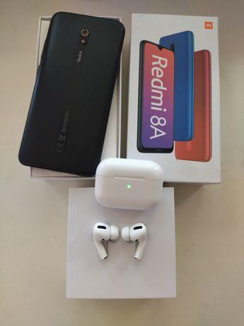 Xiaomi Redmi 8a в подарок Airpods Pro