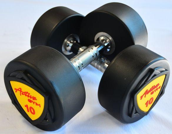 Професионални Уретанови Гири Active Gym 1кг - 50кг НОВИ