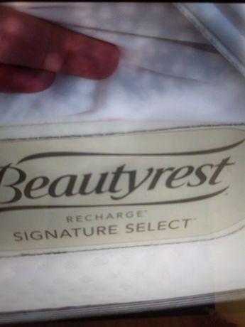 Vand saltea pat 100/190 Beautyrest,nu Tempur , din SUA,grosime 37 cm