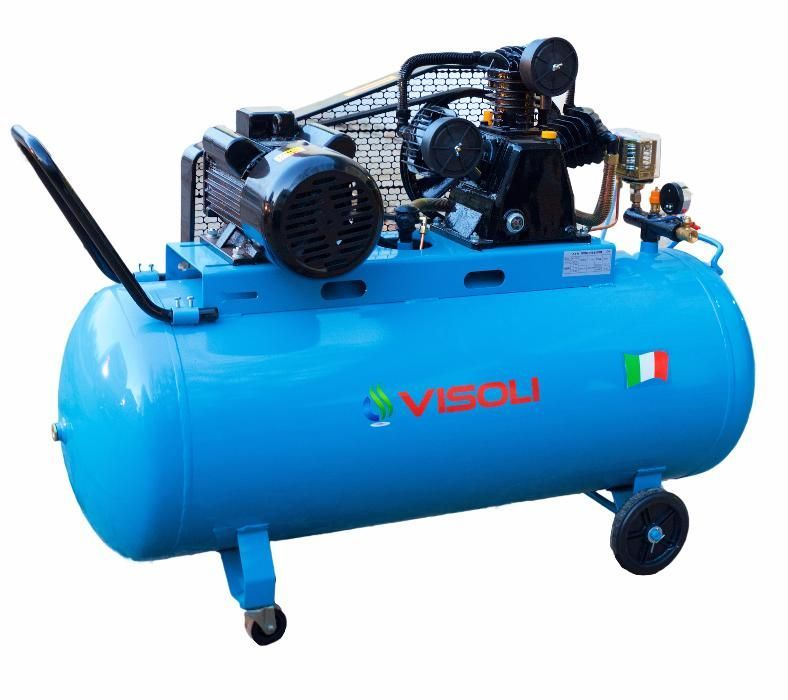 Compresor de aer 200L 10 bari Visoli -Motor 4CP-Bobinaj Cupru Timisoara - imagine 1