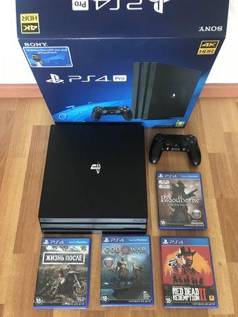 Продам PlayStation 4 PRO 1TB