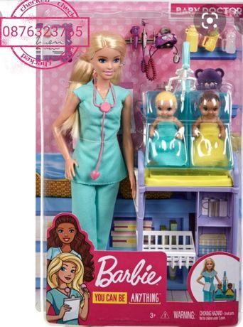Кукла барби Barbie лекар педиатър
