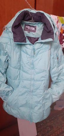 Зимняя куртка от спортивного костюма.